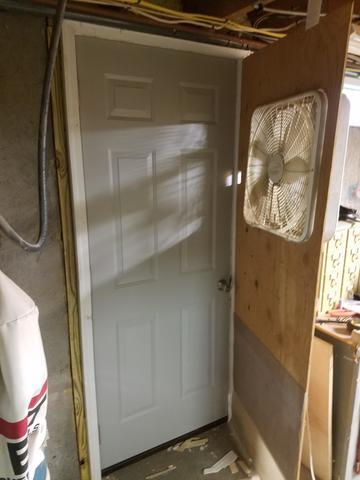 Installing a Basement Door in Enfield, CT