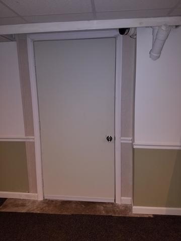 Installing a Basement Door in Manchester, CT