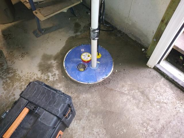 Eliminating Water in a Basement in Granby, CT