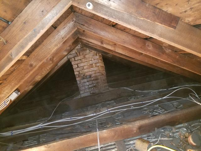 Eliminating Mold in an Attic in Greenfield, MA