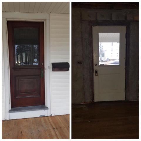 Installing a New Beautiful Basement Door in Enfield, CT