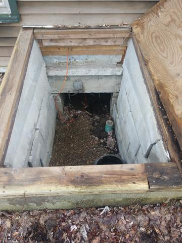 Reducing Musty Smells in a Home in Great Barrington, MA - Before Photo