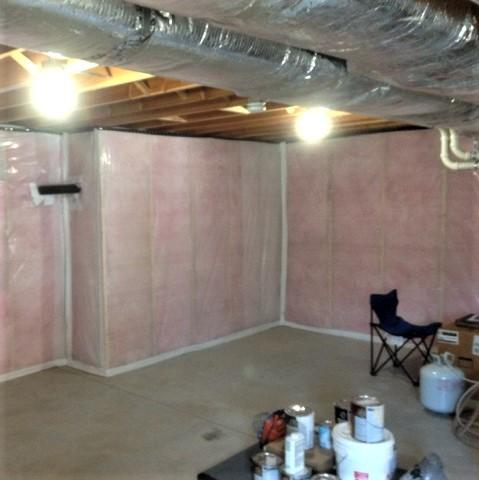 Eliminating Mold and Making a Basement Warmer in Belchertown, MA