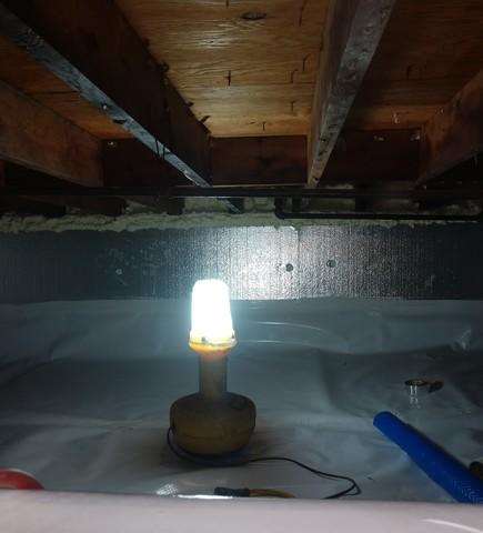 Eliminating Crawlspace Moisture in Springfield, MA