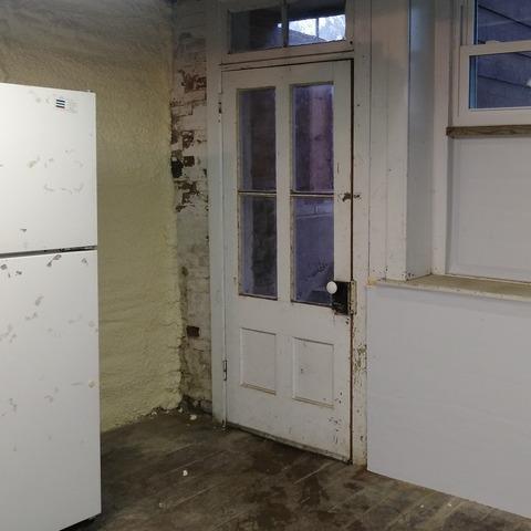 Replacing Basement Hatch Door in Lenox, MA