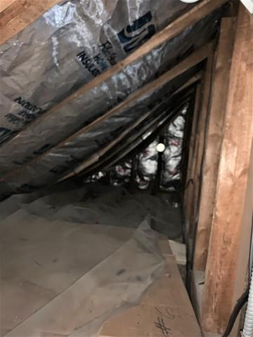 Reducing Drafts in a Home in Blandford, MA