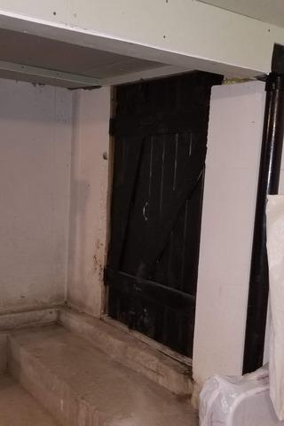 Upgrading Exterior Door to Crawlspace in Richmond, MA