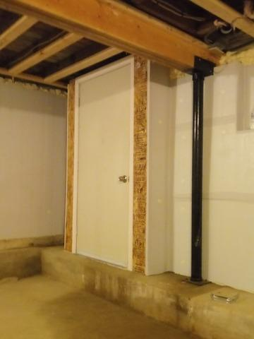 Upgrading Exterior Door to Crawlspace in Richmond, MA