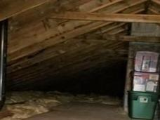 Removing and Replacing Insulation in an Attic in Ellington, CT