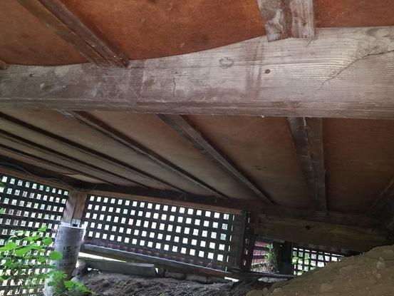 Insulating Under a Porch in North Adams, MA