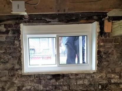 Installing a Basement Window in Greenfield, MA - After Photo