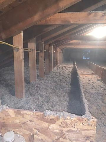 Air Sealing, Insulation, and Storage Area in South Deerfield, MA