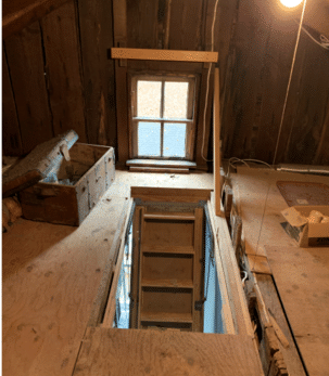 Air Sealing and Insulating Attic in North Stonington, CT