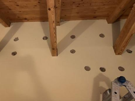 Reducing Sound in a Home with Cellulose in Higganum, CT - After Photo
