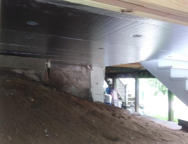 Making a Three Season Porch Livable in Southwick, MA