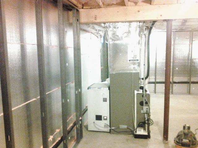 Dehumidification Sytem Install in Springfield, MA