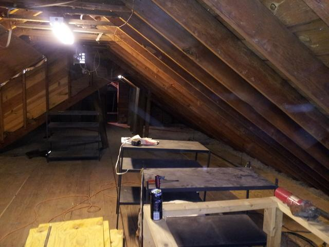 Attic Insulation in Feeding Hills, MA