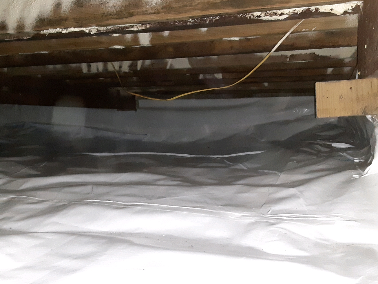 Crawl Space Encapsulation in Allen, TX - After Photo