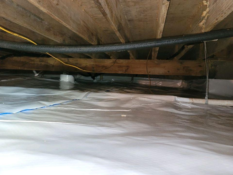 Crawl Space Remediation in Sherman, TX - After Photo