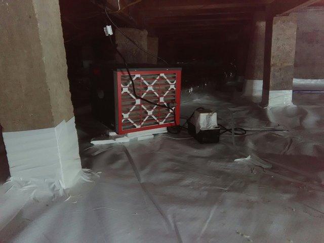 Crawl Space Mold Removal in Dallas, Texas