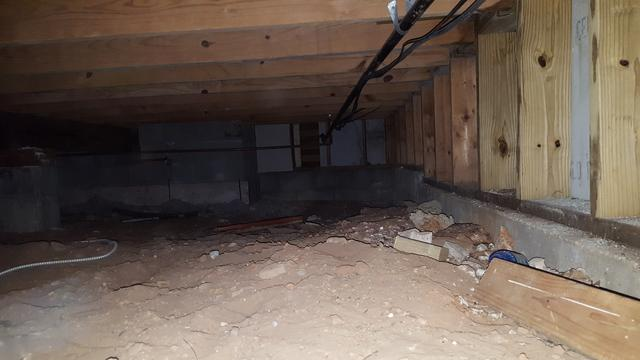 Crawl Space Barrier and Mold Removal in Argyle, Texas