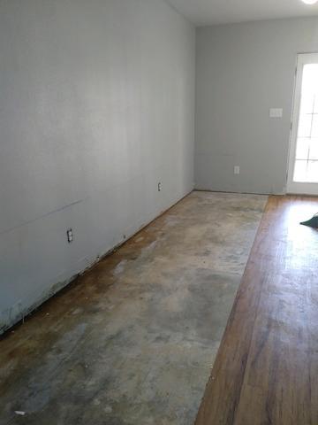 Mold Remediation in Bullard, TX - Before Photo