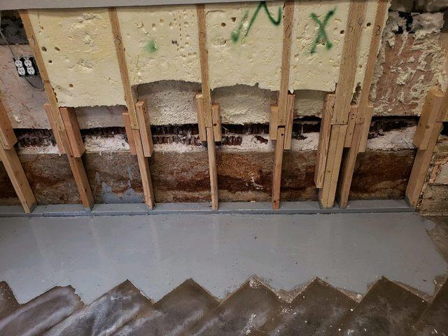 Basement waterproofing in Dallas