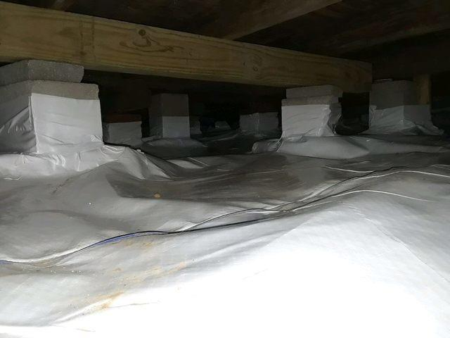 Crawl Space Remediation in Boyd, Tx.