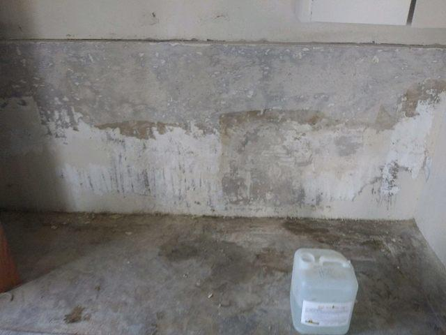 Waterproofing, in Little Elm, TX - Before Photo