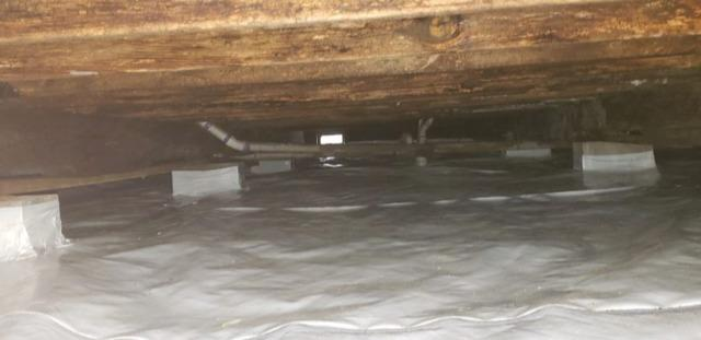 Crawlspace Encapsulation in Detroit, TX - After Photo