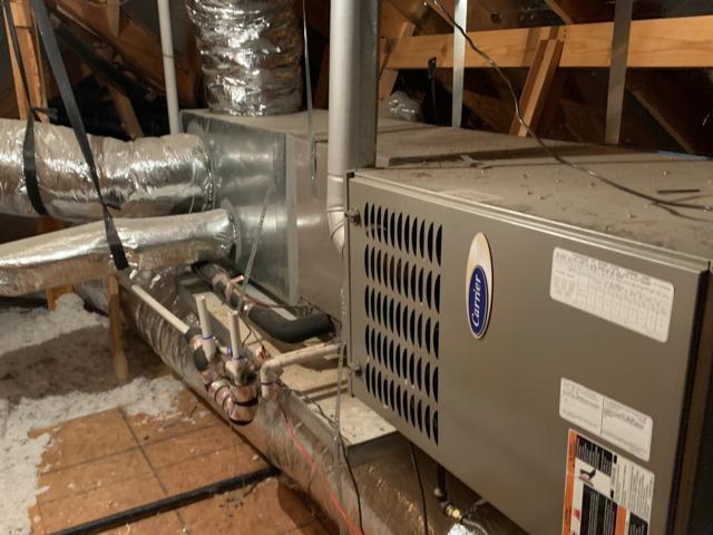 Air Duct Encapsulation, Attic Insulation