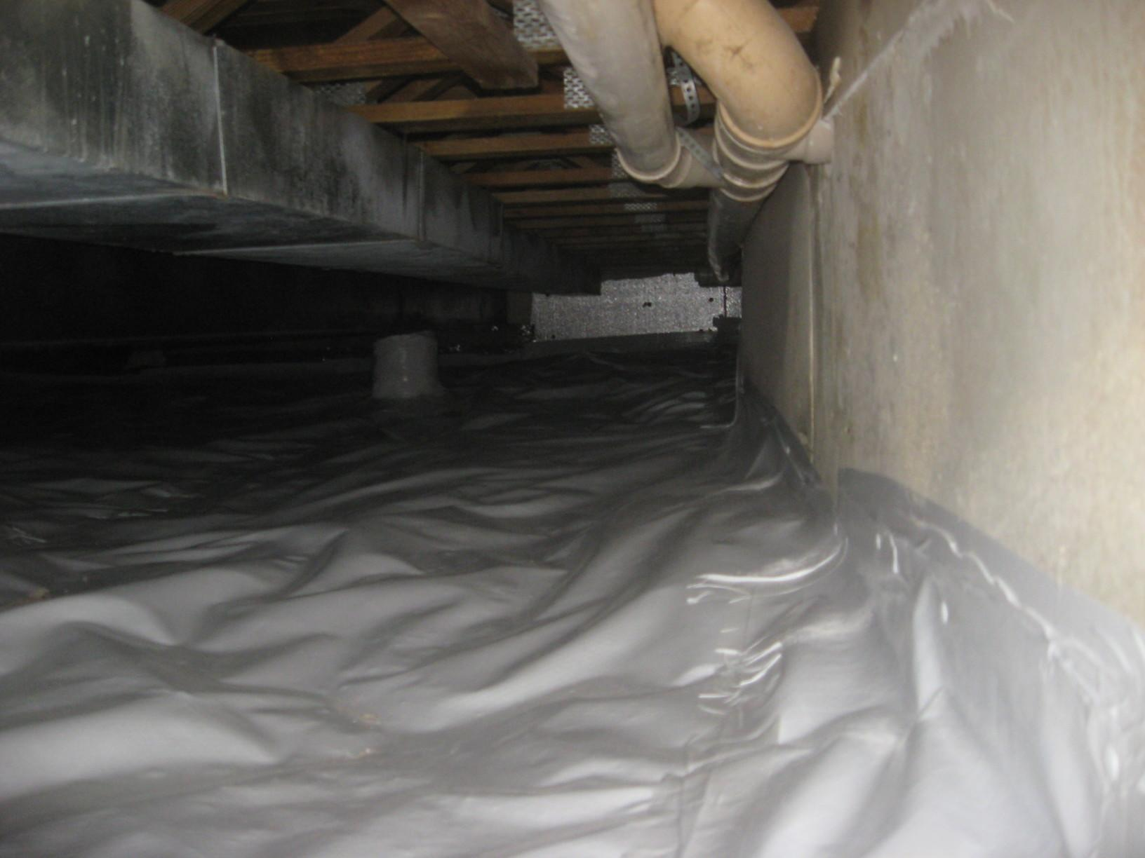 Crawl Space Encapsulation in Northbrook, Illinois - After Photo