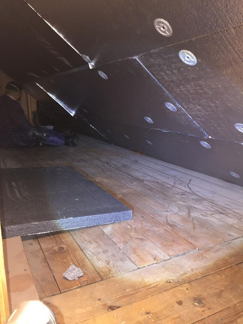 Exposed Attic in Glencoe, IL - After Photo