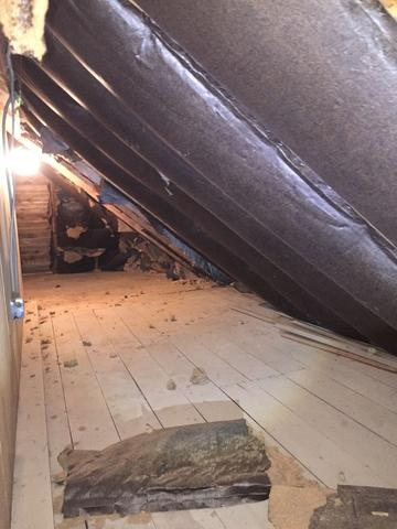 Exposed Attic in Glencoe, IL