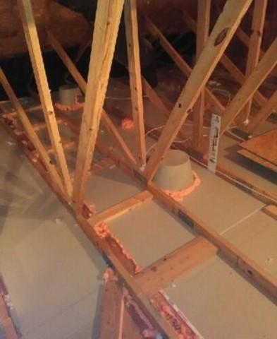 Air Gaps in Fox River Grove, IL Attic Insulation