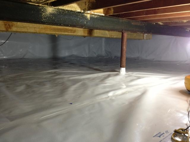 Crawl Space Insulation in Lake Forest, IL