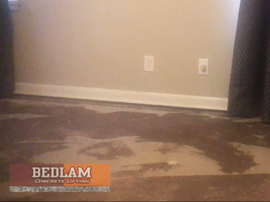 Interior Slab Repair in Blackwell, OK - After Photo