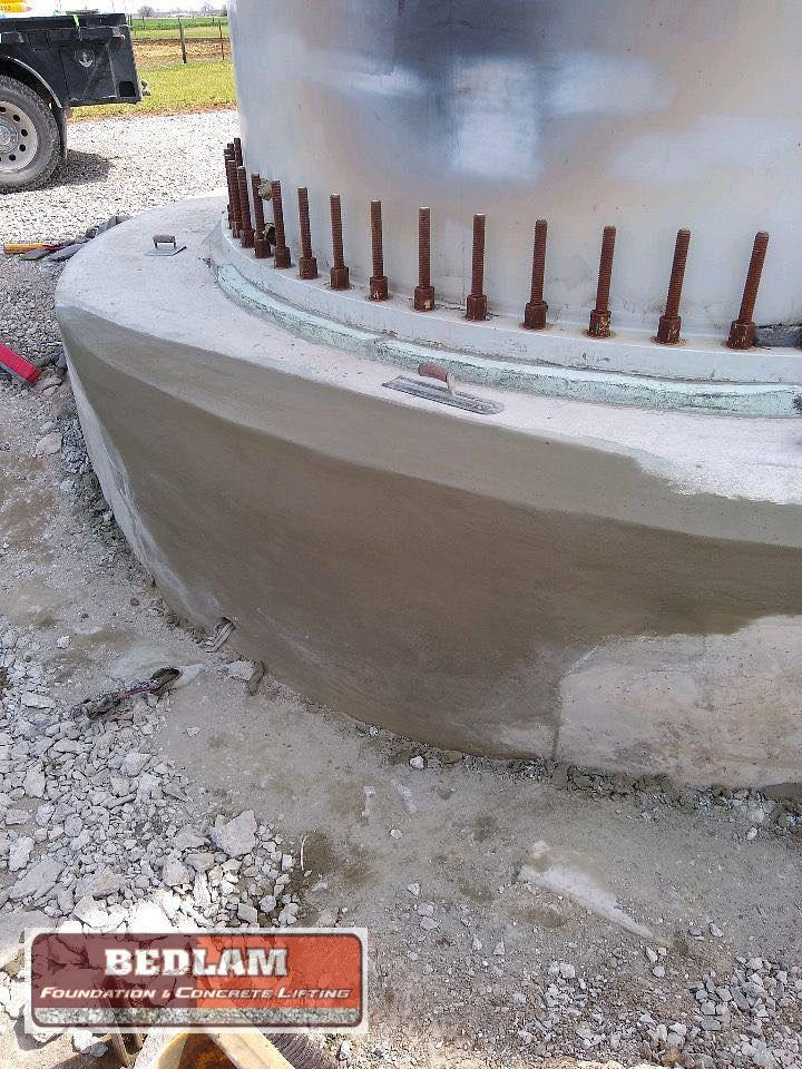 Turbine Base Foundation Repair in Hennessey, Ok - After Photo