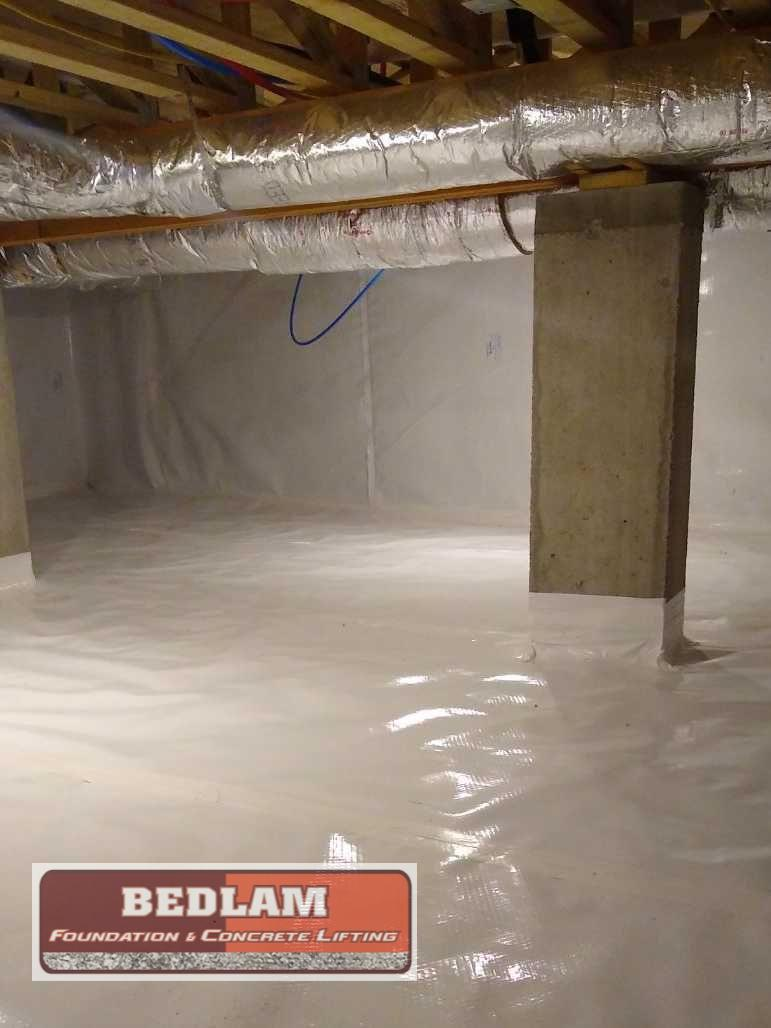 Complete Crawlspace Encapsulation in Claremore, OK - After Photo