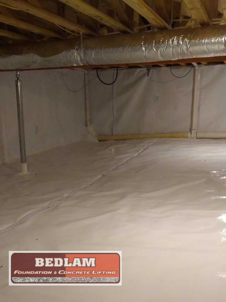 Crawlspace Encapsulation in Claremore, OK - After Photo