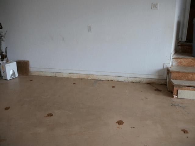 Coweta, Ok Garage Floor