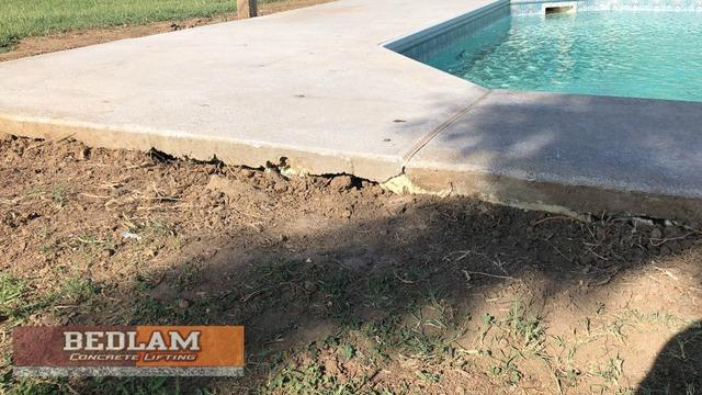 Pool Deck Repaired by Polylevel in Haskell, Ok
