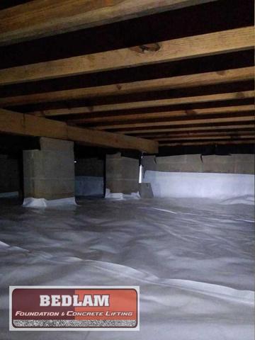 Waterproofing Crawlspace in Pawhuska, Ok