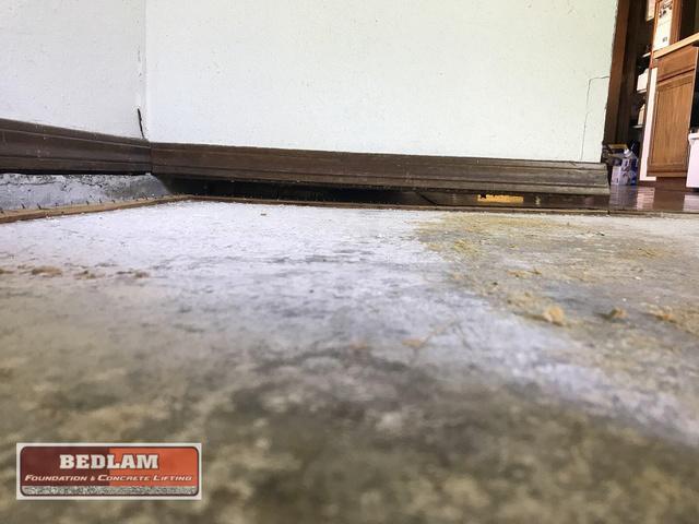 Interior Concrete Lifting in Tulsa, Ok
