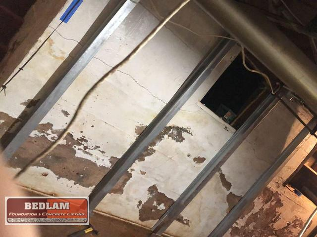 Bowing Basement Wall Repair in Perry, Ok