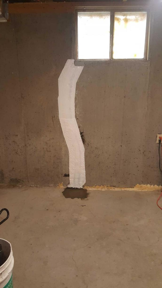 FlexiSpan Foundation Crack Repair System in Billings, MT Home - After Photo
