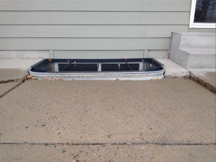 Concrete Repair in Billings, Montana - Before Photo