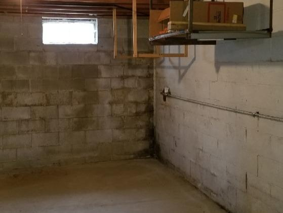 Lynchburg, Ohio Home Fitted with SuperSump - Before Photo
