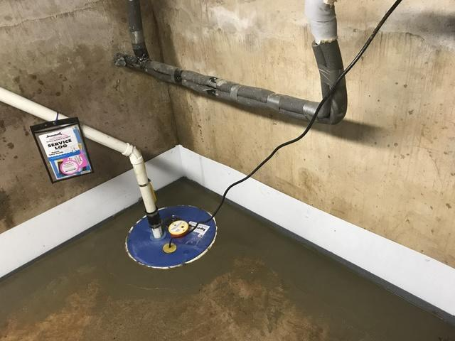 WaterGuard and SuperSump resolve water seeping into a basement in  in Russellville, OH - After Photo