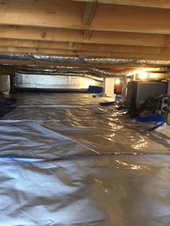 CleanSpace Encapsulation System installed in Manchester, OH - After Photo